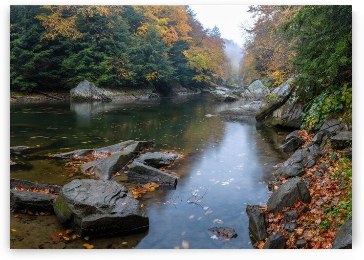 Slippery Rock Creek apmi 1924 by Artistic Photography