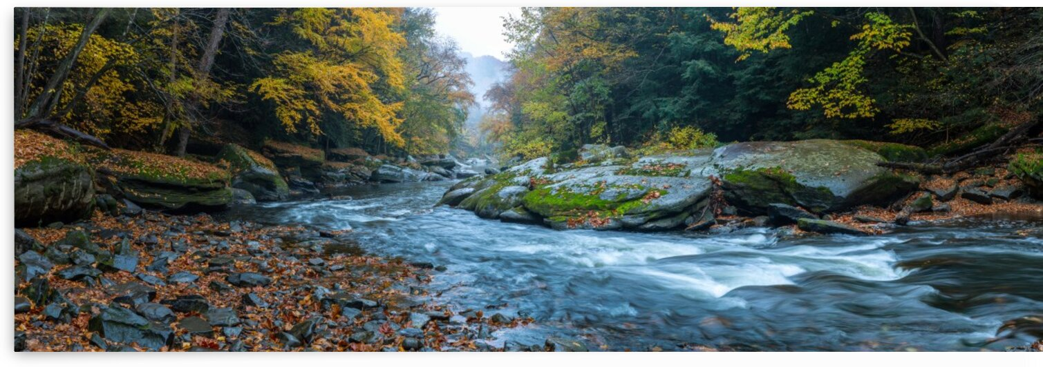 Slippery Rock Creek apmi 1941 by Artistic Photography