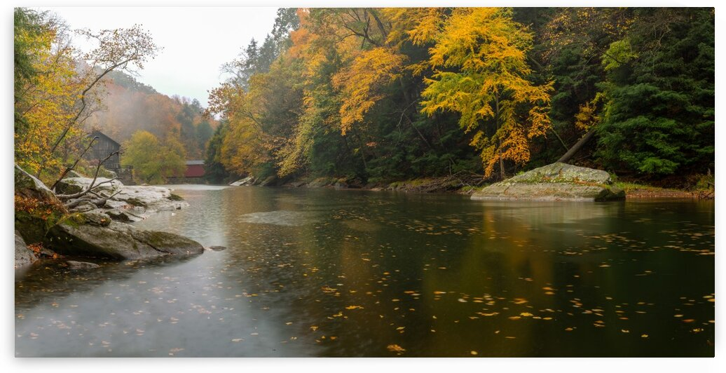 Slippery Rock Creek apmi 1925 by Artistic Photography