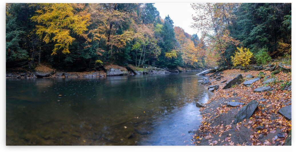 Slippery Rock Creek apmi 1961 by Artistic Photography