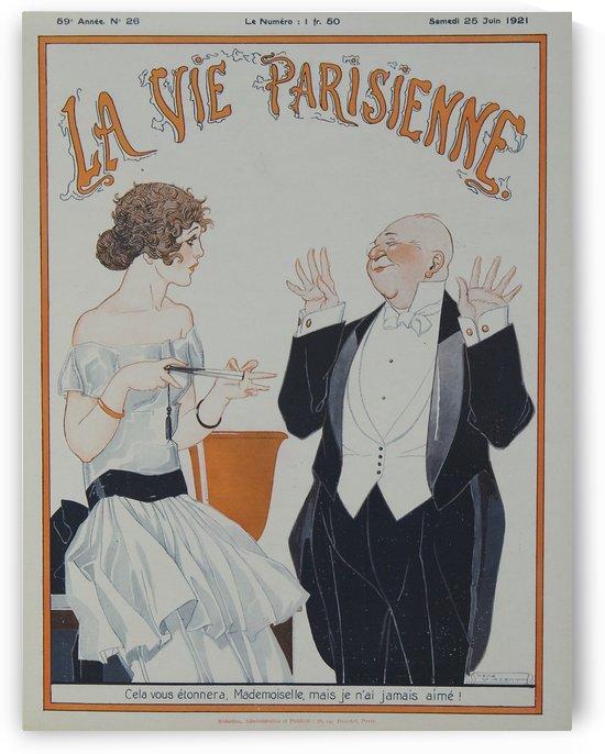 La vie parisienne by VINTAGE POSTER