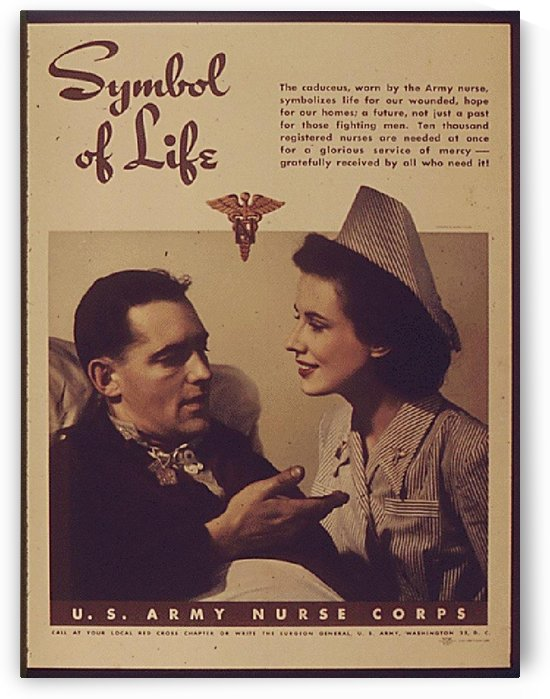 Symbol of life by VINTAGE POSTER