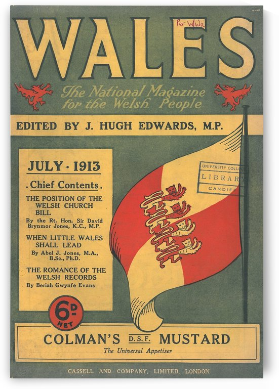 Wales by VINTAGE POSTER