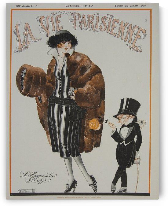 La vie parisienne L homme by VINTAGE POSTER