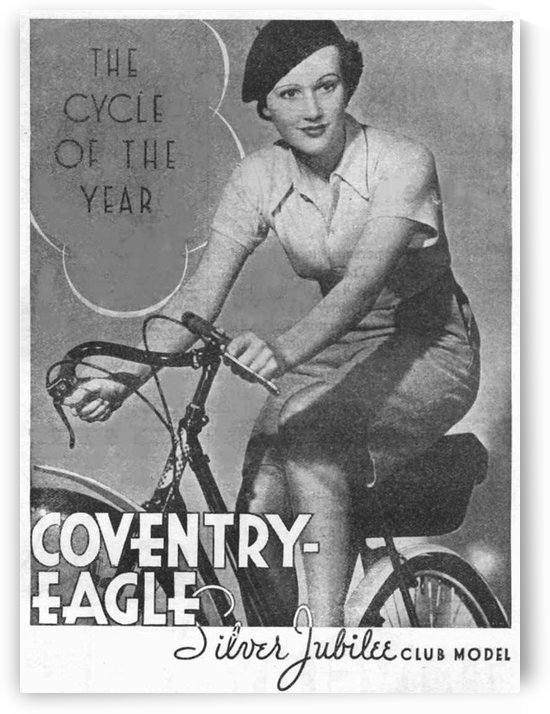 The cycle of the year by VINTAGE POSTER