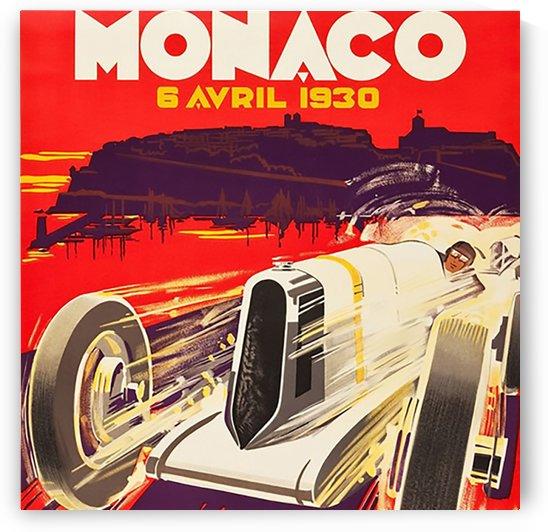 Monaco April 1930 by VINTAGE POSTER
