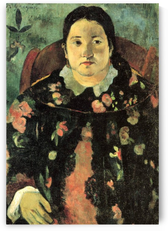 Suzanne Bumbridge by Gauguin by Gauguin