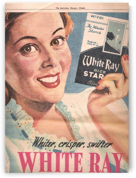 White Ray by VINTAGE POSTER