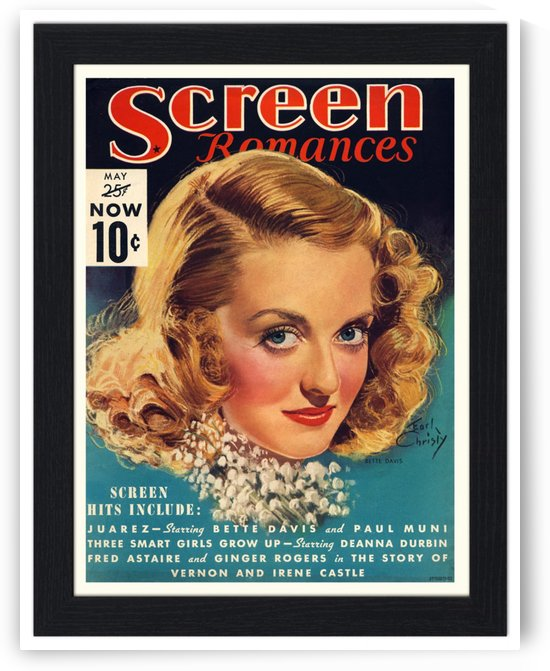 Screen romances by VINTAGE POSTER