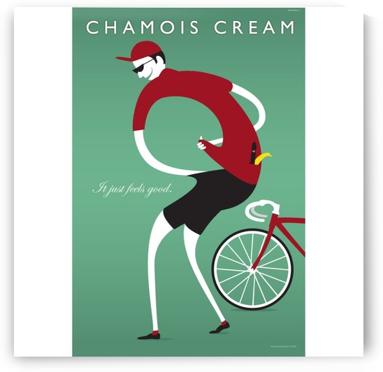 Chamois Cream by VINTAGE POSTER