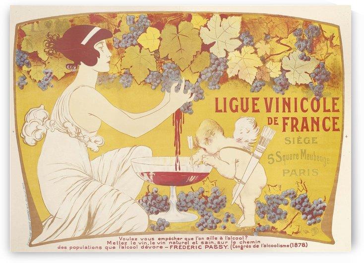 Ligue Vinicole de France by VINTAGE POSTER