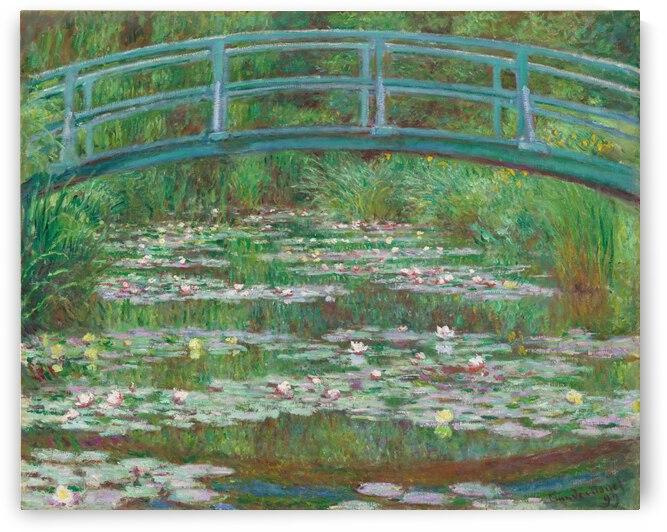 Claude Monet: Japanese Footbridge - HD 300ppi  by Stock Photography