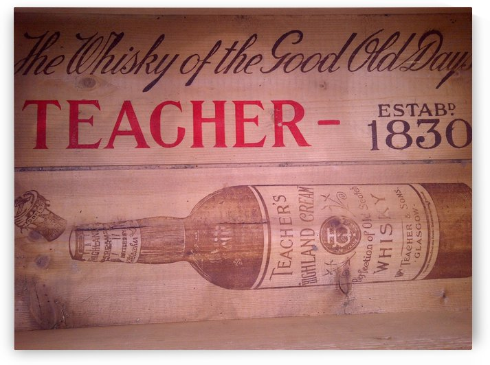Whisky of the good old days by VINTAGE POSTER