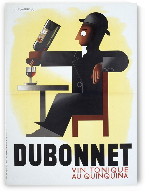 Dubonnet by VINTAGE POSTER