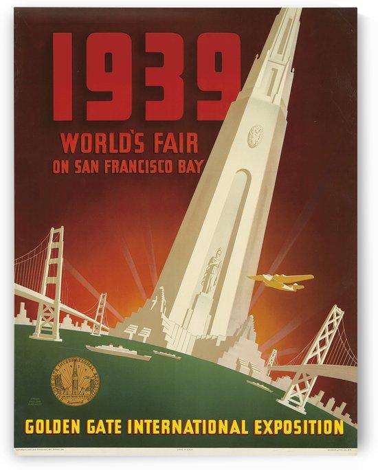 Golden Gate International Exposition by VINTAGE POSTER