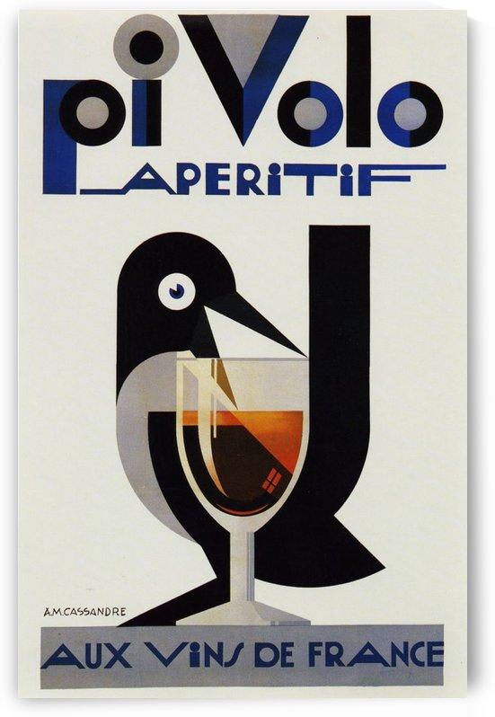 Aux Vins de France by VINTAGE POSTER