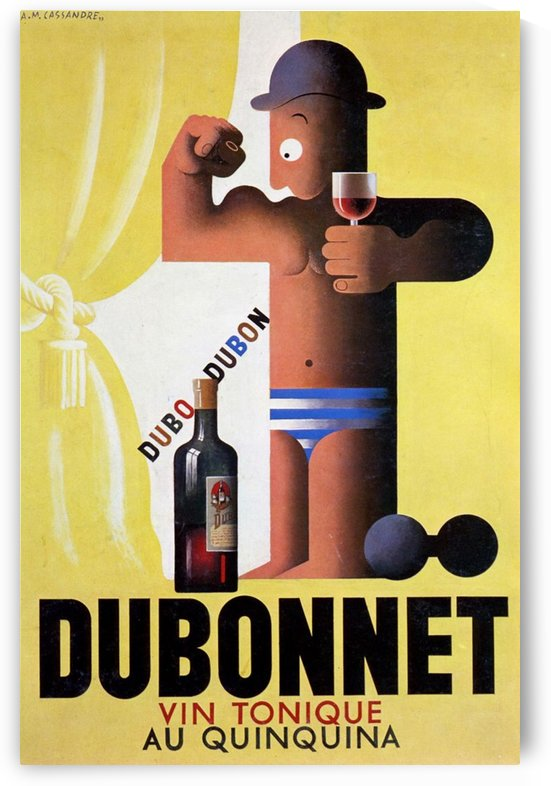 Dubonnet Vin Tonique by VINTAGE POSTER