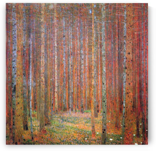 Tannenwald I by Klimt by Klimt