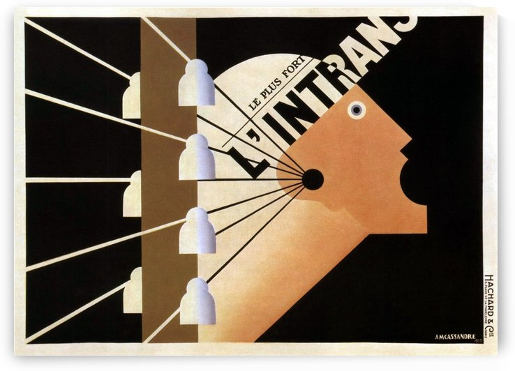 L'Intrans Poster by VINTAGE POSTER