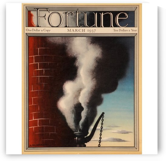 Fortune by VINTAGE POSTER