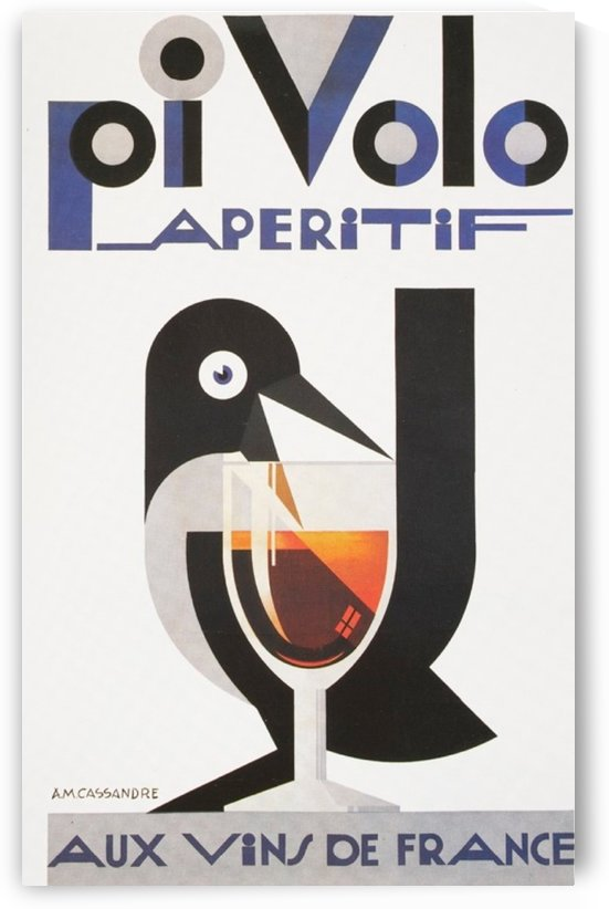 Oi Volo by VINTAGE POSTER