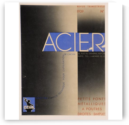 Acier by VINTAGE POSTER