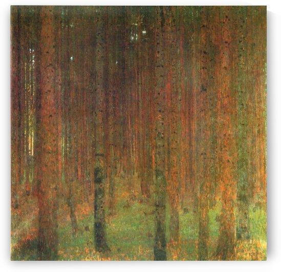 Tannenwald II by Klimt by Klimt