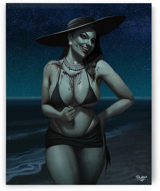 Alcina Dimitrescu Pinup by 7th Artist