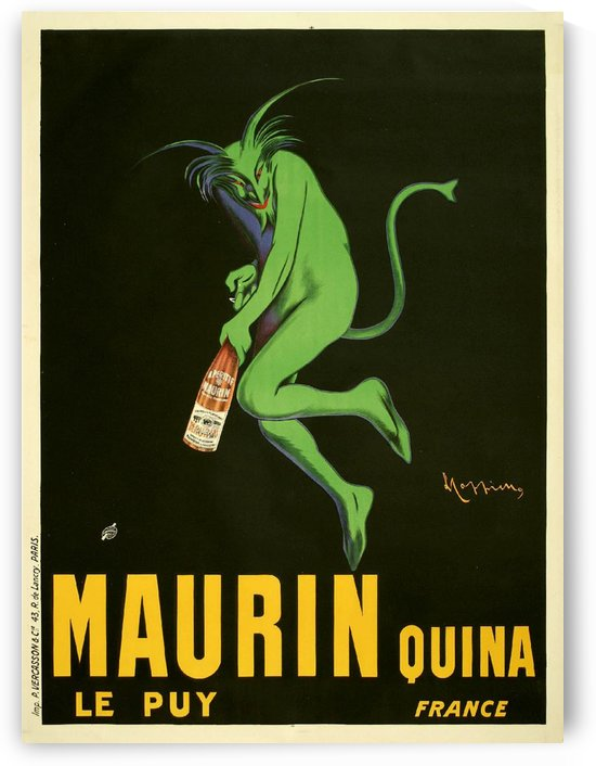 Maurin Quina by VINTAGE POSTER