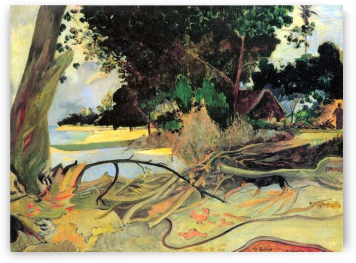Te Burao by Gauguin by Gauguin