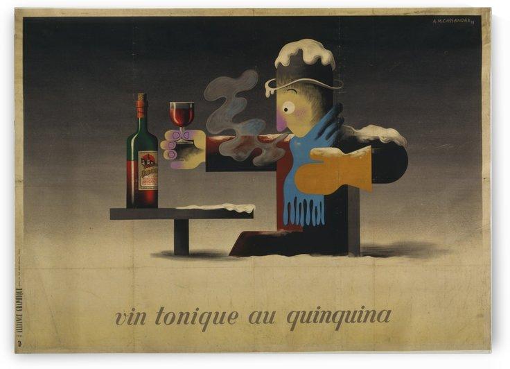 Vin tonique au quinquina by VINTAGE POSTER