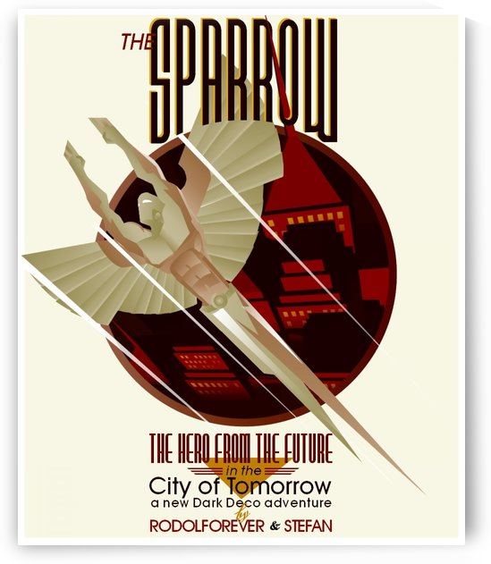 The sparrow by VINTAGE POSTER
