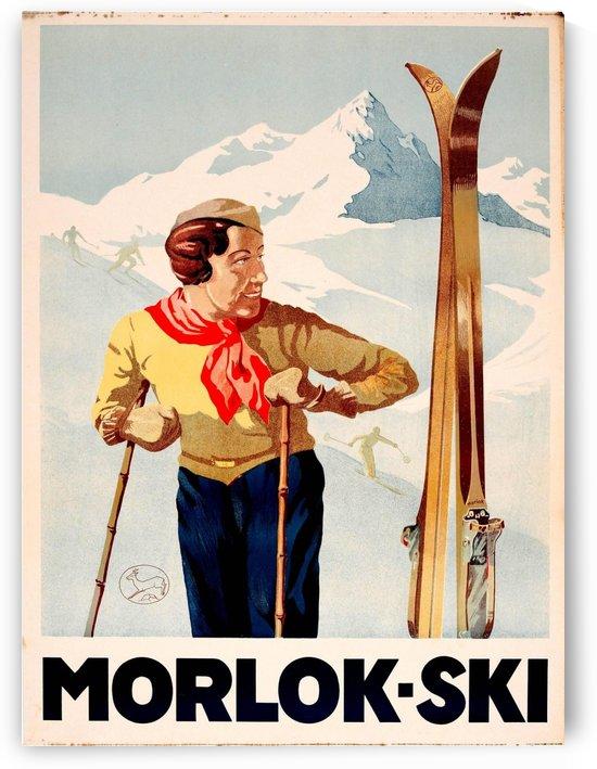 Morlok Ski by VINTAGE POSTER