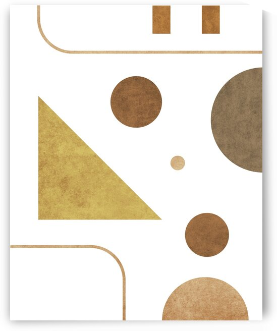 Subtle Opulence - Contemporary Minimalist Abstract in White 3 by Cosmic Soup