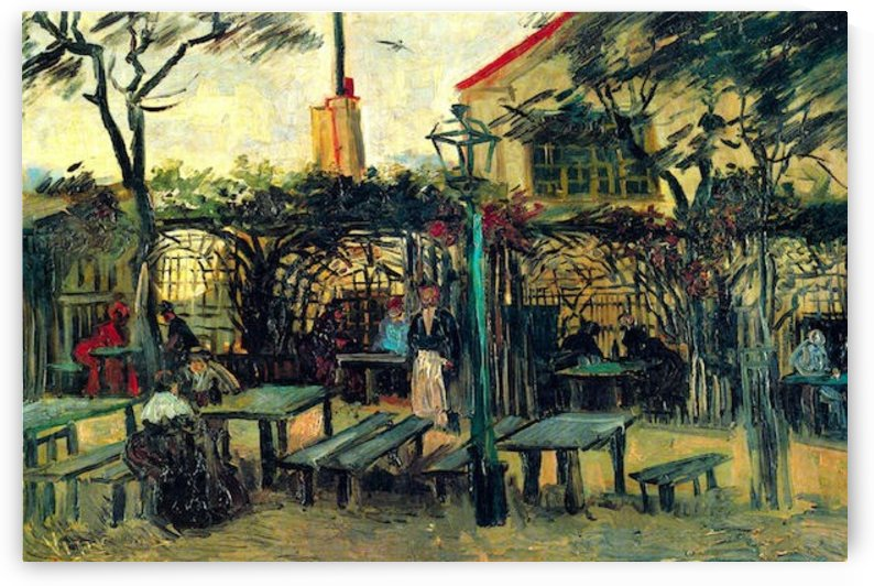 Terrace of a Cafe by Van Gogh by Van Gogh