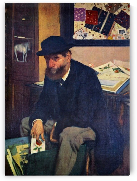 The Amateur by Degas by Degas