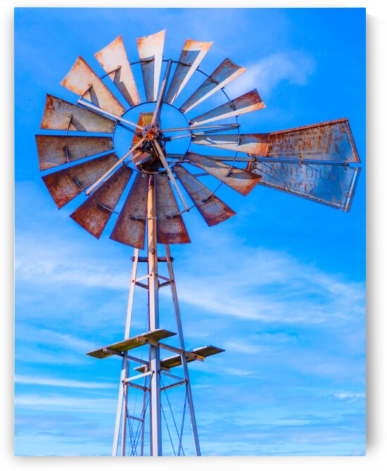 Uncle Sams Windmill by Susan Diann Photography