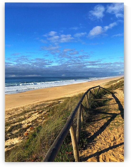 Portugal coast of the Atlantic ocean by Anita Varga