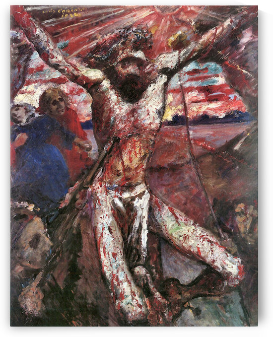 Red Christ by Lovis Corinth by Lovis Corinth