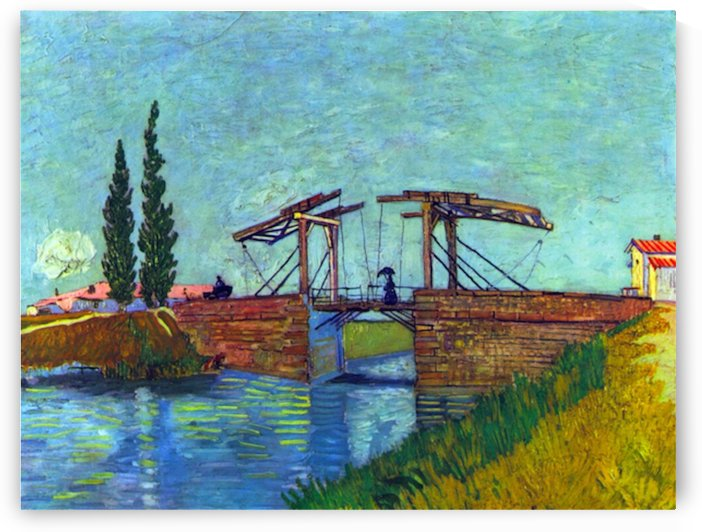 The Anglois Bridge at Arles (The drawbridge) by Van Gogh by Van Gogh