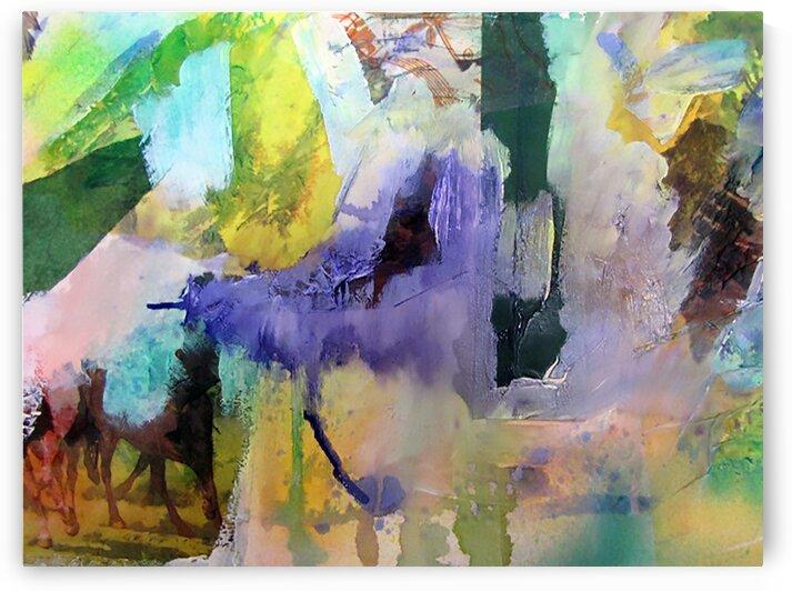 La voyageuse  by Francyne Plante artiste