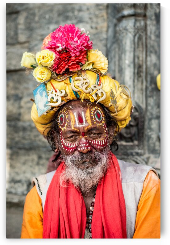 Sadhu of Pashupatinath by Julie Anne Davies