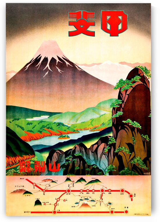Fields of Color  Yamanashi Prefecture by vintagesupreme