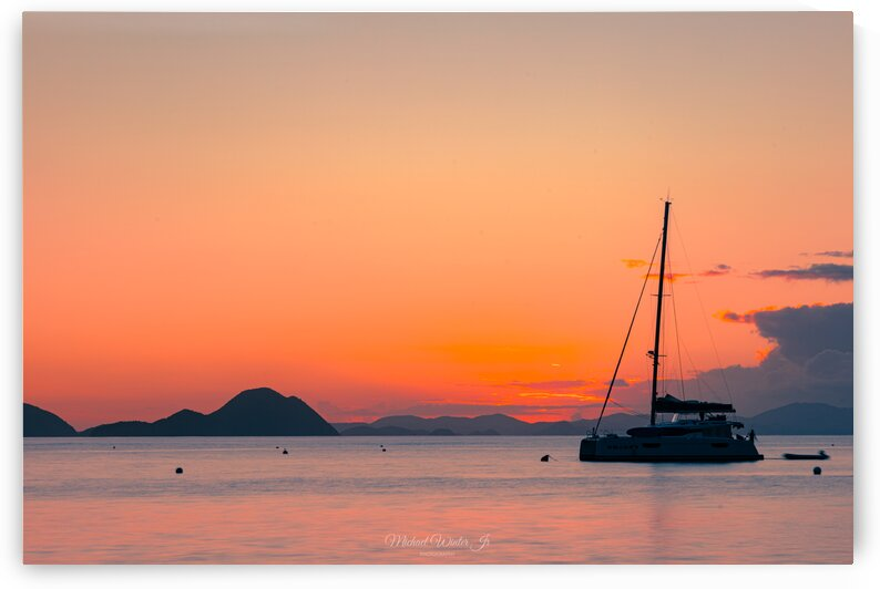 CGB sunset yacht longexp by Michael Winter Jr Photography