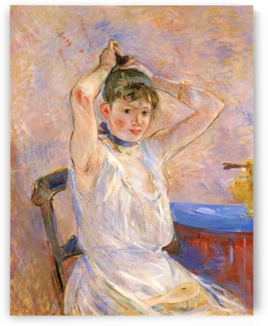 The Bath by Morisot by Morisot