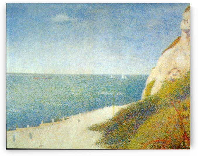 The Beach by Seurat by Seurat