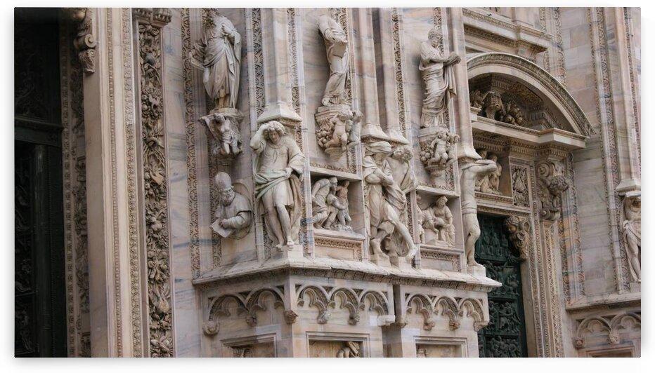 Sculptures - Italianate Architecture  by Pixcellent Adventures