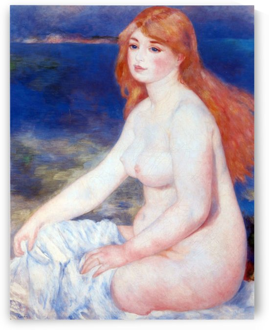 The blond bather 2 by Renoir by Renoir