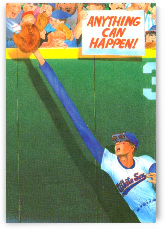 1988 Chicago White Sox Stretch Catch Poster by Row One Brand