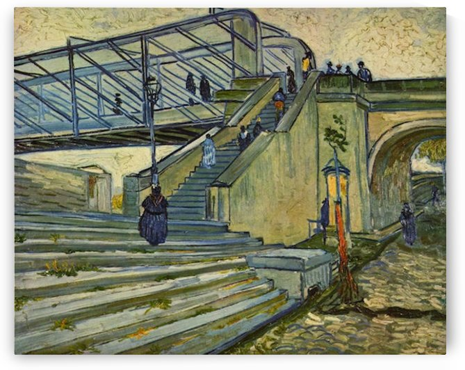 The Bridge at Trinquetaille by Van Gogh by Van Gogh